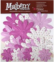 Fleurs EMBOSSED DAISIES Lavender - Petaloo
