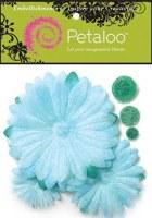 Fleurs GLITER DAISY PEEL Teal - Petaloo