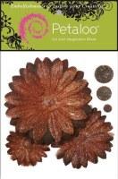 Fleurs GLITTER DAISY PEEL Brown - Petaloo