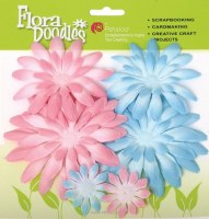 Double delight daisy PINK/BLUE - Petaloo