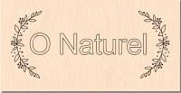Tampon bois O NATUREL - Les ateliers de Karine