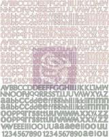 Stickers alphabet RONDELLE - Prima