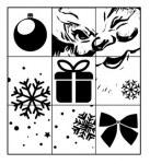 {Joyeux Noël}Tampon clear LE PUZZLE DE NOËL - Lorelaï design