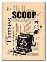Tampon bois SCOOP - Florilèges
