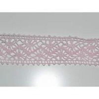 Ruban crochet large rose - May arts