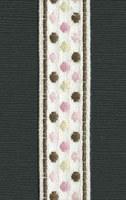 Ruban Pink Sophisticate Polka dots - Maya Road