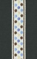 Ruban Blue sophisticate polka dots - Maya Road