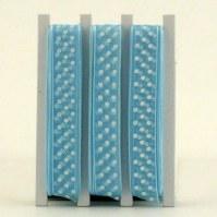 Ruban organdi à pois bleu 3x5m - Toga