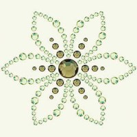 Strass BLING IT LOTUS/GRASS - Basic Grey