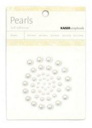 Demi perles autocollantes SNOW - Kaisercraft