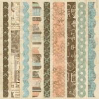 Border strips GRANDMA'S ATTIC - Paper company