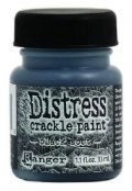 Distress crackle paint - Black soot