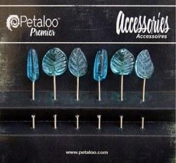Epingles GLASS ORNAMENTS BLUE - Petaloo