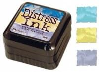 Set 3 distress ink SPRING