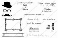Tampons clear LE QUOTIDIEN EN QUELQUES MOTS(2) - Zenatytude