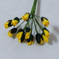 Bouquet 12 petite ROSEBUD YELLOW