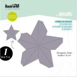 Forme de découpe (die) - Métaliks ORIGAMI STAR - Kesi'art