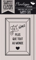 {Capsule février 2016}Tampons clear PLUS QUE TOUT - Florilèges