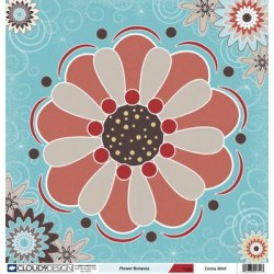 Cocoa mint - Flower bonanza - Cloud 9 Design