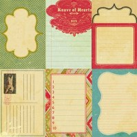 {Knave of hearts}Journaling cards - Collage Press