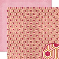 {Pink plum}Pomegranate - Crate papera