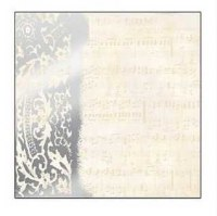 Felicity - Music foil paper - Creative imaginations