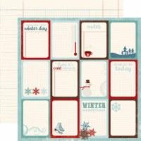 {Wintertime}Journaling cards - Echo park