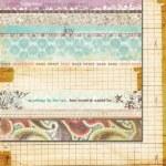 {Lilac house}Strips - Fancy Pants