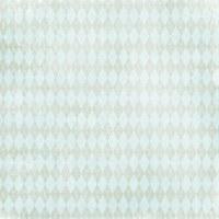 {C'est la vie}Green argyle - Melissa Frances