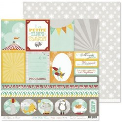 {Little winter circus}Petits coupons - Pandore
