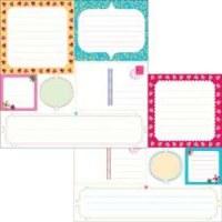 Sublime Journaling sheet - Glitz Design