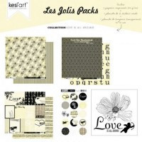 Joli pack LOVE IS ALL AROUND - Kesi'art