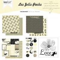 Joli pack LOVE IS ALL AROUND - Kesi'art