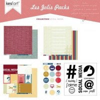 Joli pack SOCIAL MEDIA - Kesi'art