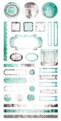{Cotton candy dreams} Element stickers - 7 Dots studio