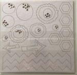 Chipboards COTTON CANDY DREAMS  - 7 Dots studio
