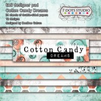 {Cotton candy dreams} Pack papiers 15 x 15 cm - 7 Dots studio