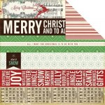 {Reflections christmas}Borders strips - Echo Park
