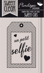 {Capsule mars 2016}Tampon clear PETIT SELFIE - Florilèges