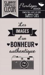{Capsule mars 2016}Tampon clear IMAGES AUTHENTIQUES - Florilèges