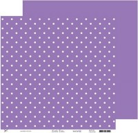 {Little dots}Mauve lilac - Kesi'art
