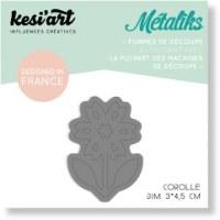 Forme de découpe(die) - Mini Métaliks COROLLE - Kesi'art