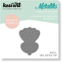 Forme de découpe(die) - Mini Métaliks PISTIL - Kesi'art