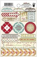 {Merry little christmas}Stickers Labels - Fancy pants