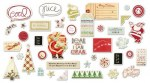 {Merry little christmas}Die cuts Ephemera - Fancy pants