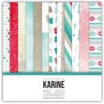 Pack papiers MINT CHOCO ET GOURMANDISES - Les ateliers de Karine