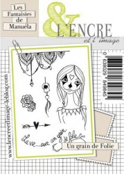 Tamponc clear GRAIN DE FOLIE - L'encre et l'image