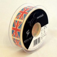 Ruban VINTAGE FLAG 25 mm