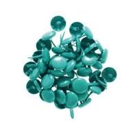 Grands brads turquoise - Kesi'art