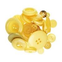 Boutons jaunes - Kesi'art